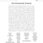 Environmental Science Word Search   Wordmint