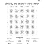 Equality & Diversity Word Search   Wordmint