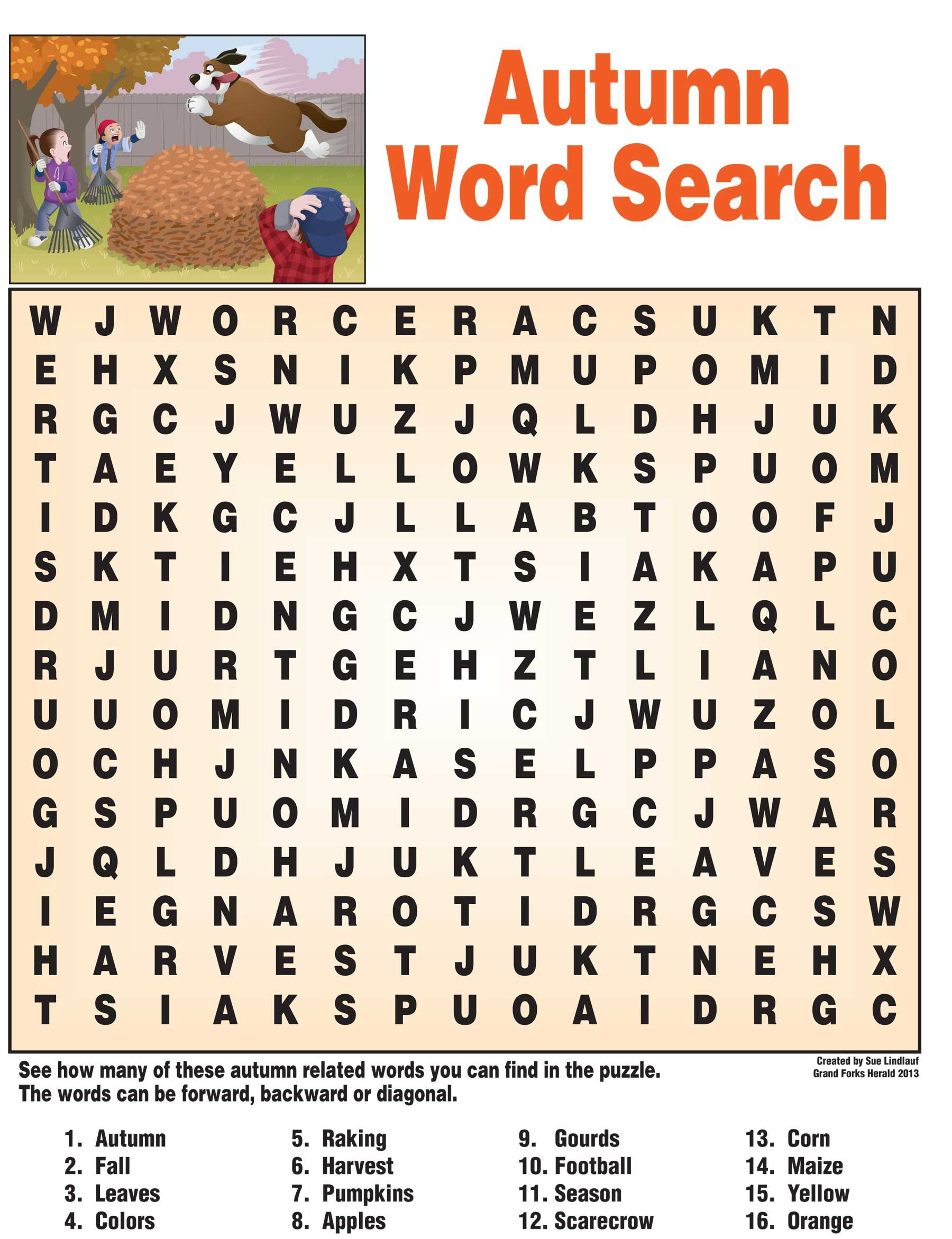Fall+Word+Search+Puzzles   Fall Words, Fall Word Search