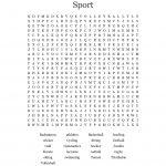 Field Day Word Search   Wordmint