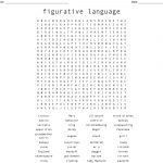 Figurative Language Word Search   Wordmint