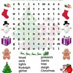 Free Christmas Word Search Printable! Go Here To Print