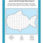 Free, Printable Bible Word Search Activities On Sunday