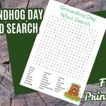 Free Printable Groundhog Day Word Search Puzzle   Jinxy Kids