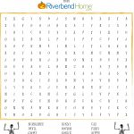 Free Printable Halloween Word Search Puzzle | Riverbend Home