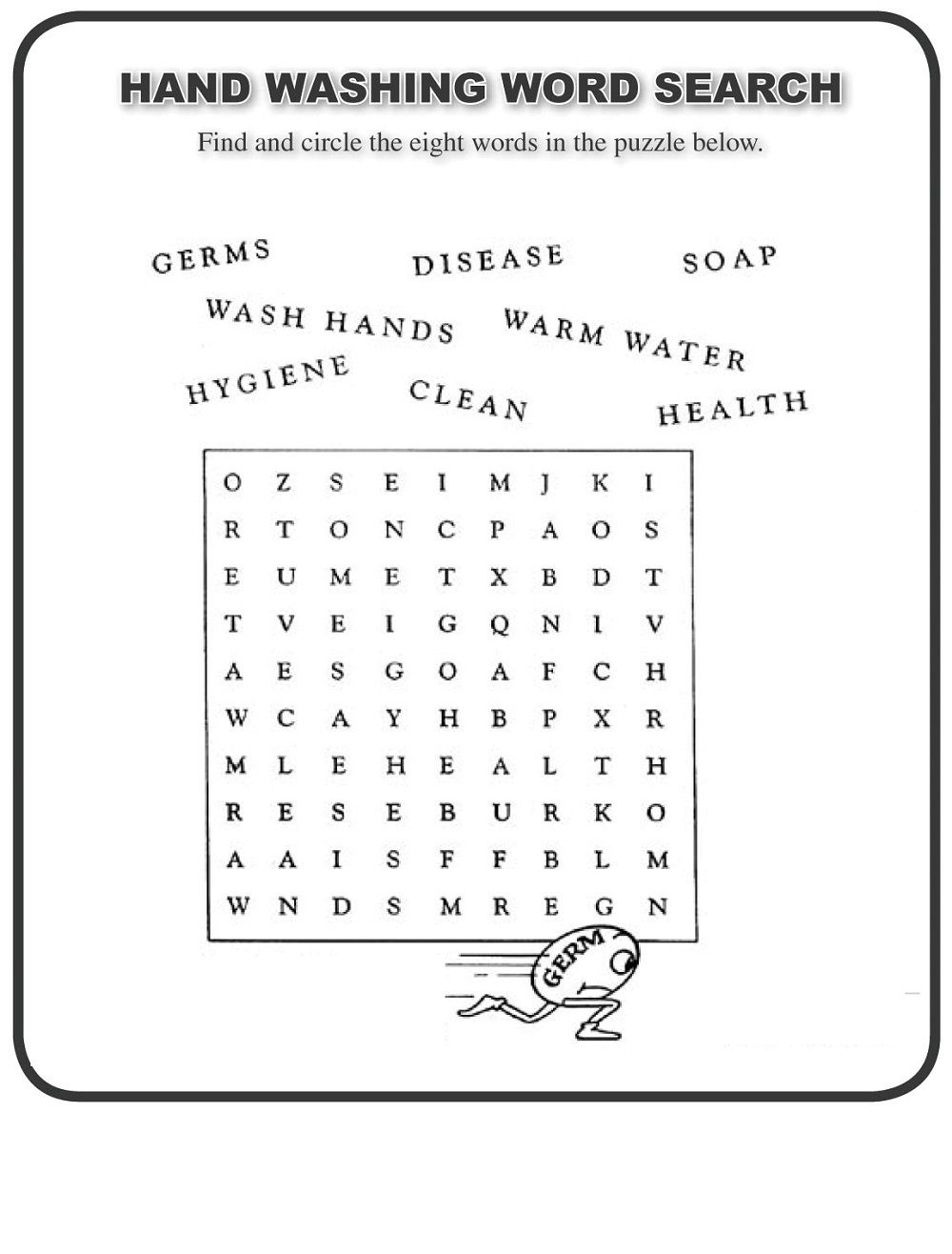 Free Printable Word Search For Elementary Students | Free