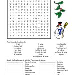 French Christmas Word Search   Google Search | French