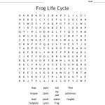 Frog Life Cycle Word Search   Wordmint
