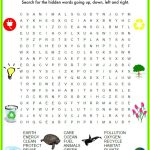 Fun Free Earth Day Word Search | Earth Day Coloring Pages