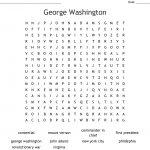 George Washington Word Search   Wordmint