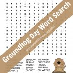 Groundhog Day Word Search Free Printable
