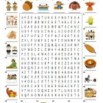 Happy Thanksgiving   Wordsearch Puzzle   English Esl
