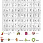 Hard Christmas Word Search | Christmas Word Search