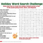 Have Your Elementary Schooler Solve Clues And Find Words