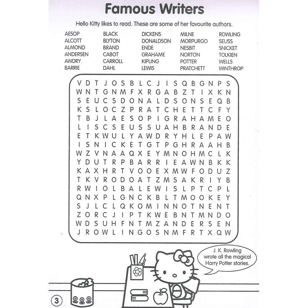 Hello Kitty Word Search - Google Search | Hello Kitty