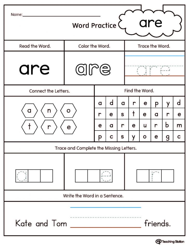 High Frequency Word Search Printable