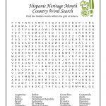 Hispanic Heritage Month Activities Worksheet | Woo! Jr. Kids