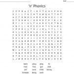 Ir' Phonics Word Search   Wordmint