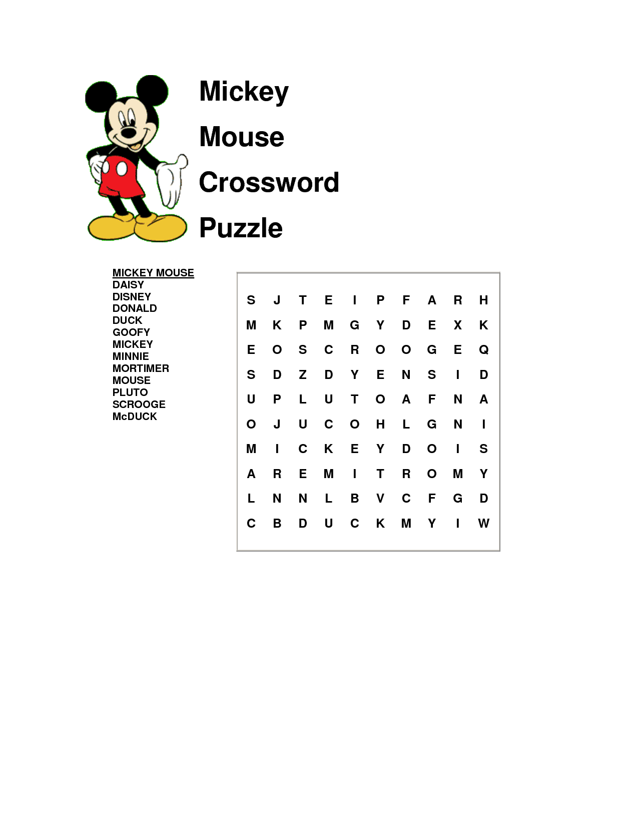 It's A Word Search Not A Crossword, But Ok | Disney Word
