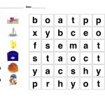 Kindergarten Word Search | Easy Word Searches For