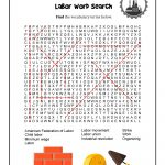 Labor Day Word Search   Answer Key | Woo! Jr. Kids Activities