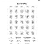 Labor Day Word Search   Wordmint