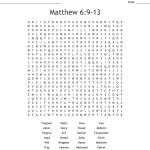 Lord's Prayer Word Search   Wordmint