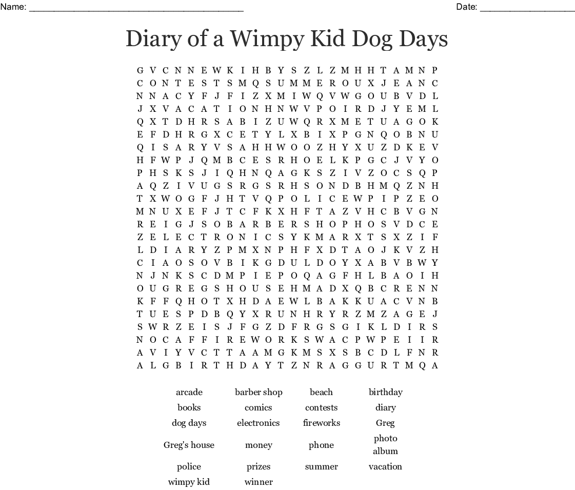 Lunch Money Word Search - Wordmint
