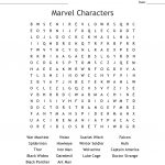 Marvel And Dc Characters Word Search   Wordmint