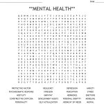 Mental Health** Word Search   Wordmint
