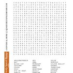 Monster Halloween Word Search Puzzles Printable   Bates's