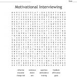 Motivational Interviewing Word Search   Wordmint