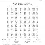 Movies Crosswords, Word Searches, Bingo Cards   Wordmint