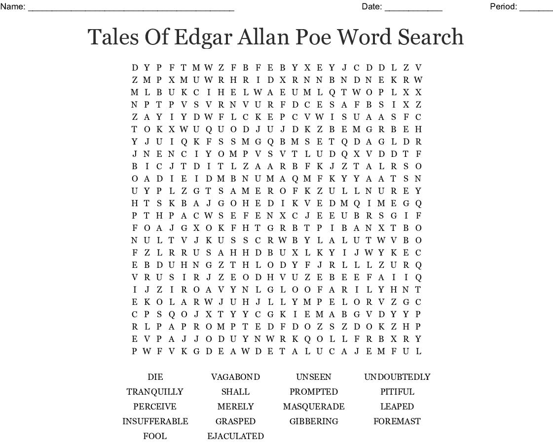 Mystery Wordsearch - Wordmint