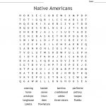 Native Americans Word Search   Wordmint