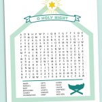 Nativity Word Search Printable | Christmas Word Search