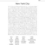 New York Word Search   Wordmint