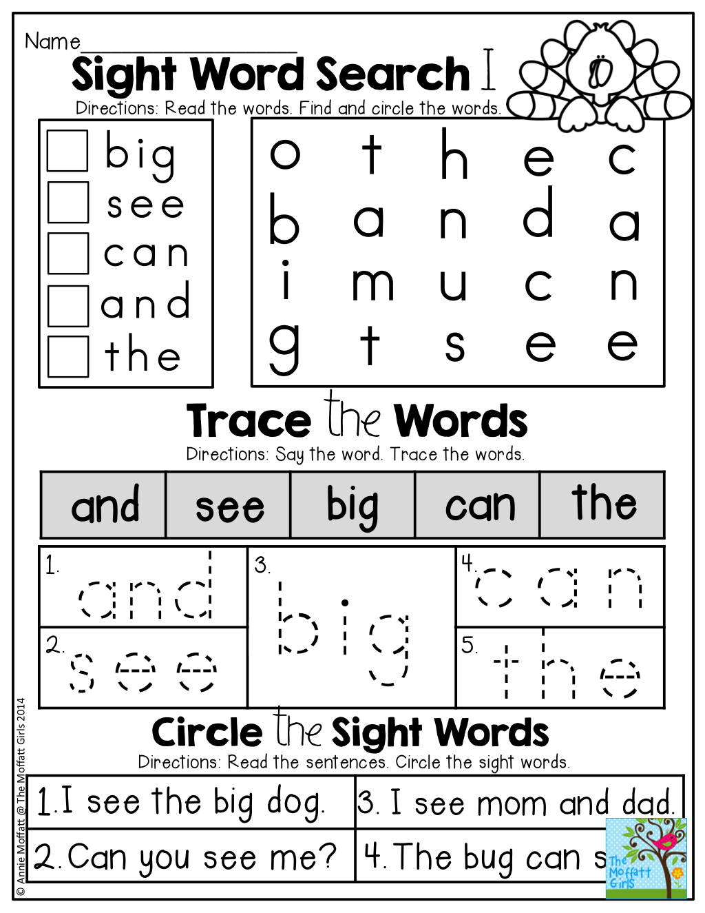 November No Prep Math And Literacy (Kindergarten) | Teaching