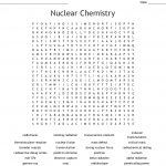Nuclear Chemistry Word Search   Wordmint