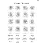 Olympic Games Word Search   Wordmint
