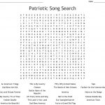 Patriotic Song Search Word Search   Wordmint