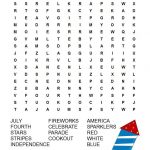 Patriotic Word Search Free Printable | Patriotic Words, Free