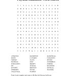 Physical Education Word Search | Physical Education, Health