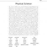 Physical Science Word Search   Wordmint