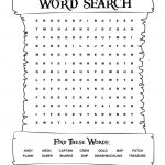 Pirates Voyage Activity Sheet   Word Search | Pirate