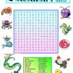 Pokemon Wordsearch | Pokemon, Pokemon Cards, Pokemon Ninetales