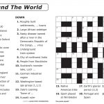 Preschool Worksheet Crossword Puzzle | Printable Worksheets
