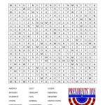 President's Day Word Search Printable   Glamamom