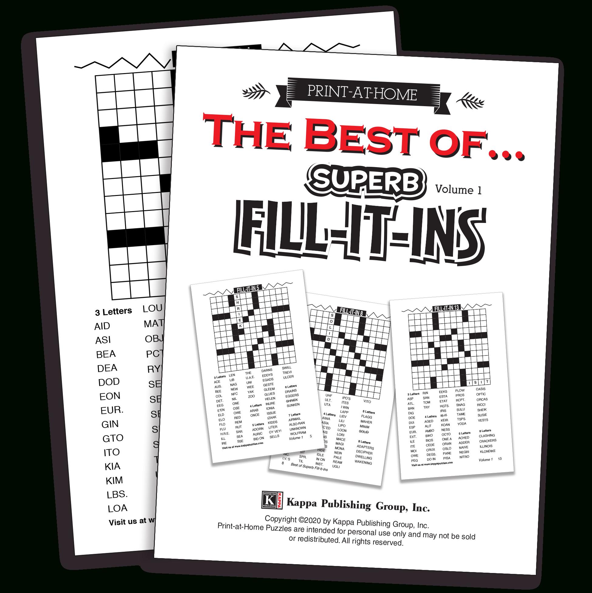 Print-At-Home Bent & Wiggly – Kappa Puzzles