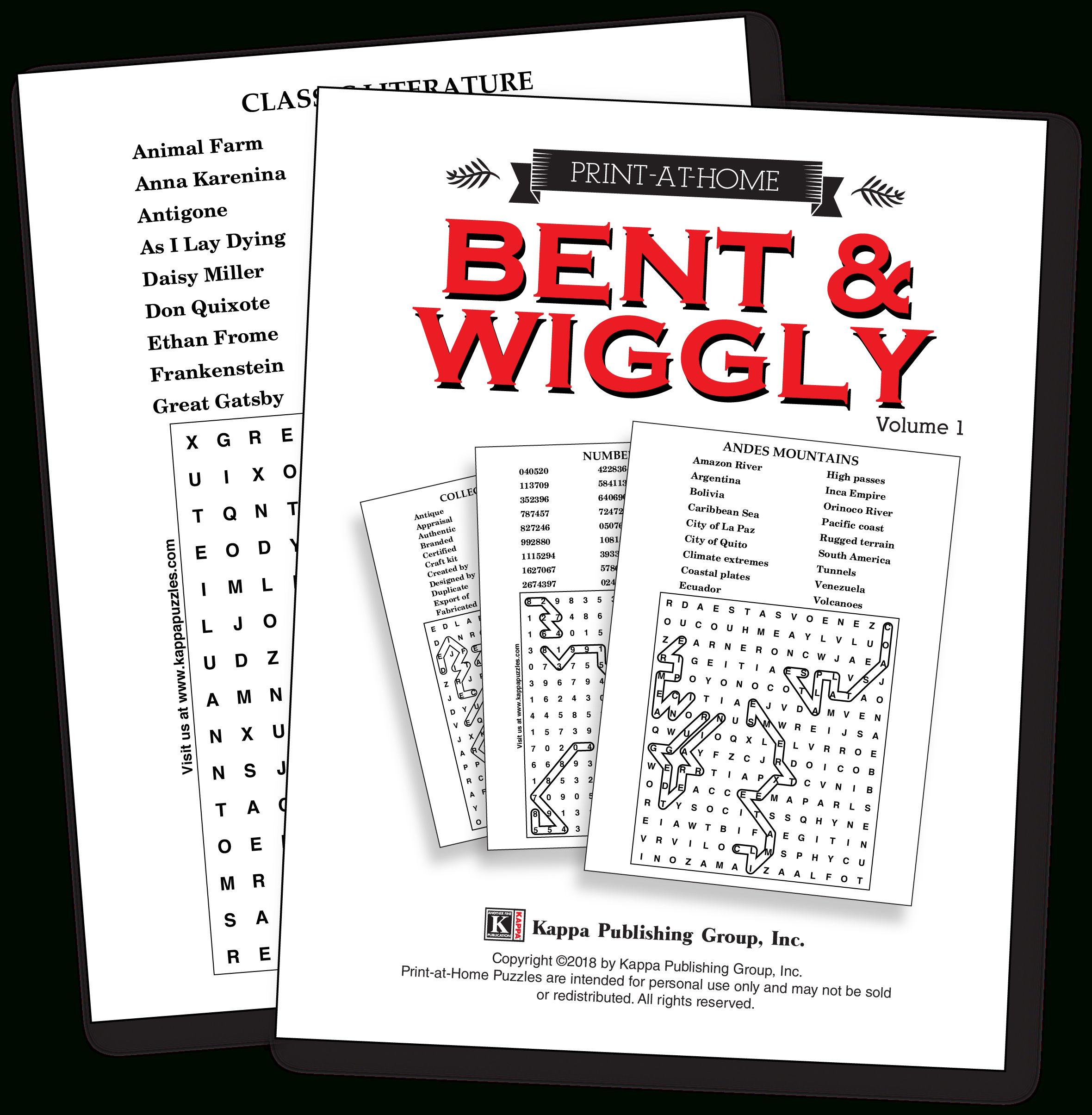 Print-At-Home Bent & Wiggly